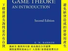 二手書博民逛書店Solutions罕見Manual to Accompany Game Theory: An Introducti