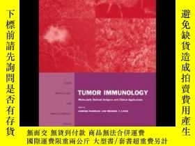 二手書博民逛書店Tumor罕見Immunology: Molecularly D