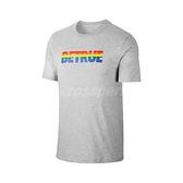 Nike 短袖T恤 NSW BETRUE Tee 灰 彩色 男款 短T 彩虹 運動休閒 【ACS】 CZ0083-063