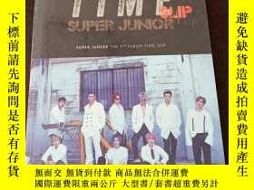 二手書博民逛書店TIME罕見SLIP (SUPER JUNOR, THE 9th album TIME_ SLIP)Y2719