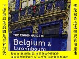 二手書博民逛書店THE罕見ROUGH GUIDE TO BELGIUM-LUXE