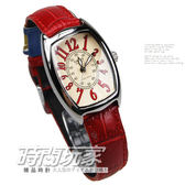 LTP-1208E-9B2 卡西歐 CASIO 指針錶 黃面 紅色皮帶 24mm 女錶 LTP-1208E-9B2DF
