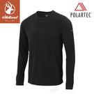 【Wildland 荒野 男 P/G體表舒適調節機能衣《黑》】P2662/中層衣/衛生衣/排汗衣/保暖
