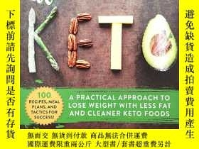 二手書博民逛書店Almost罕見Keto: A Practical Approach to Lose Weight with Le