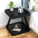 床頭櫃 收納櫃 床頭櫃簡約現代臥室收納小桌子創意置物櫃床頭小櫃組裝簡易床邊櫃!~`