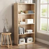 實木兒童書架桌上學生小書架創意桌面書架多層收納架書櫃飄窗架【快速出貨】