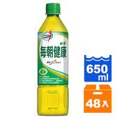 每朝健康綠茶650ml(24入)x2箱【康鄰超市】