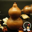 福祿/葫蘆檀香香皂  (1入)+招財進寶立體3D卡5X9cm【十方佛教文物】