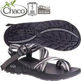 Chaco ZLM02_HF31點點黑 男越野紓壓涼鞋-Z/Cloud 2 夾腳款運動鞋/佳扣水陸兩用鞋/沙灘拖鞋