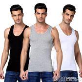 背心 男士背心純棉運動寬鬆潮牌跨欄修身型大碼無袖t恤男青年透氣夏季  瑪麗蘇