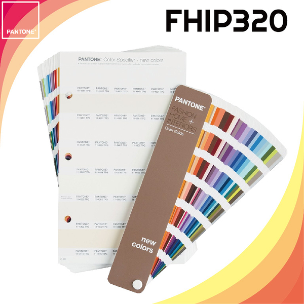 《PANTONE 》Color Specifier and Guide Supplements FHIP320