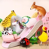 買一送一 兒童生日禮物 會走路的動物氣球 卡通散步寵物【時尚大衣櫥】