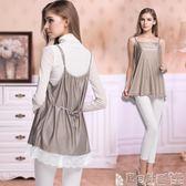孕婦防輻射服 四季防輻射服孕婦裝內穿上衣洋裝懷孕期圍裙放射服吊帶上班 寶貝計畫