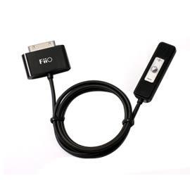 【風雅小舖】FiiO E1 iPhone/iPod專用耳機功率擴大器(黑色)-附線控器!