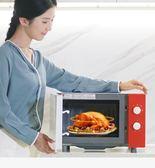小清新微波爐家用轉盤機械式迷你小型微波爐家用烤箱一體智慧平板微波爐 潮流衣舍