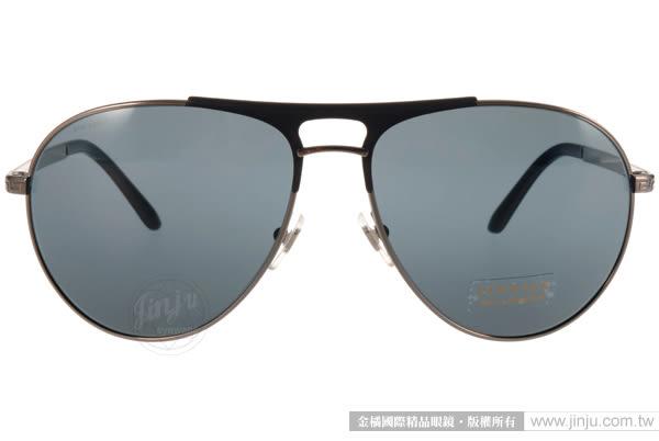 VERSACE 太陽眼鏡 VE2164 100187 (槍銀-藍) 精品時尚復古飛行款 # 金橘眼鏡