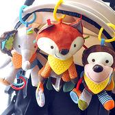 嬰兒安撫玩偶寶寶睡覺抱可入口咬布藝猴子公仔男女孩玩具6-9個月 傾城小鋪