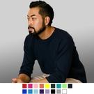 【男人幫】T7804*台灣製造美國棉高磅純色素面精梳棉七分袖T恤4色