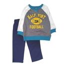 男寶寶套裝二件組 長袖T恤上衣+長褲 灰橄欖   Carter s卡特童裝 (嬰幼兒/小孩/baby)