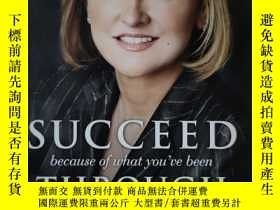 二手書博民逛書店RHONDA罕見SCIORTINO SUCCEED because of what you ve been THR