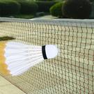【運動用品專賣】羽毛球網 球場中網 戶外球網 尼龍網 羽球網 雙打羽球網 羽毛球網 現貨