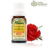《Herbox 荷柏園》英國玫瑰 English Rose 10ml【複方精華 薰香 香氛系列】