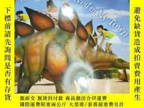 二手書博民逛書店If罕見dinosaurs lived in my townY2