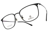 SEROVA 光學眼鏡 SP249 C16 (黑) 質感簡約款 眼鏡框  #金橘眼鏡