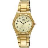 CASIO 卡西歐 小錶徑指針手錶-金/25mm LTP-1130N-9BRDF / LTP-1130N-9B
