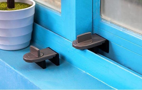 移窗移門兒童安全鎖推拉門窗戶限位器窗戶安全鎖(1入) 69元