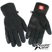 PolarStar 男防風保暖手套『黑』P16615 防風手套│保暖手套│防滑手套│機車手套