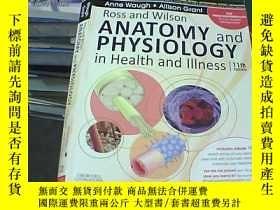 二手書博民逛書店Ross罕見and Wilson Anatomy and Phy