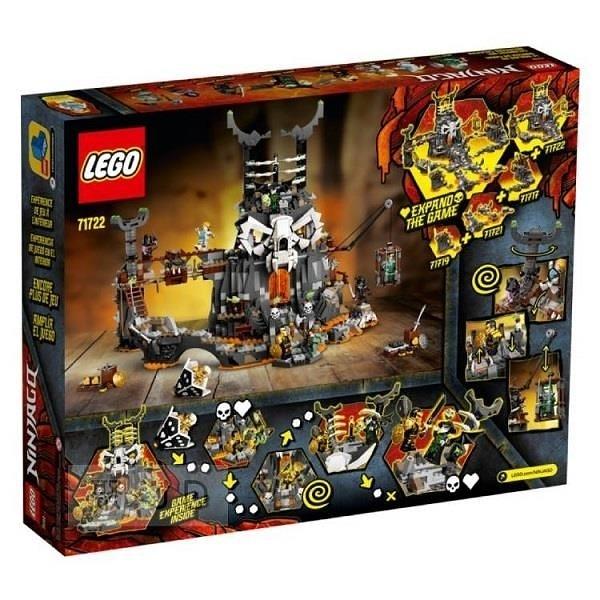 【南紡購物中心】【LEGO 樂高積木】Ninjago 忍者系列 - 骷顱頭巫師地牢(3)71722