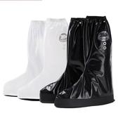 男女高筒防雨鞋套防水雨天防滑騎行摩托車鞋套加厚電動車鞋套 樂活生活館