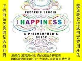 二手書博民逛書店Happiness:罕見A Philosopher s GuideY364682 Frederic Lenoi