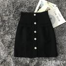包臂裙 半身裙女夏高腰2020新款時尚洋氣顯瘦包臂膝蓋中裙 新品