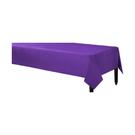 塑膠長桌巾-紫羅蘭紫