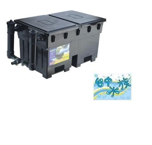 {台中水族} JEBO-100-3 佳寶魚池/池塘殺菌生化過濾池--附殺菌燈x2- 不含馬達 特價 附原廠濾