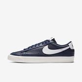 Nike Blazer Low 77 Vintage [DA6364-400] 男鞋 運動 休閒 經典 穿搭 深藍 白