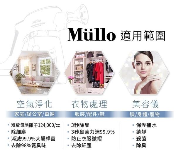 【預購七月初到貨】 Mullo 天然抗菌噴霧機-電電購