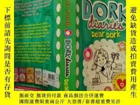 二手書博民逛書店Dork罕見Diaries : Dear Dork :傻瓜日記:親愛的笨 Y200392
