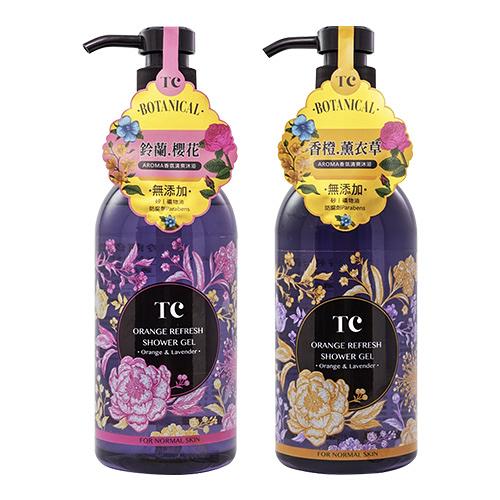 TC 香橙清爽/玲蘭保濕 沐浴露 500ml【BG Shop】2款可選/效期:2021.10.11