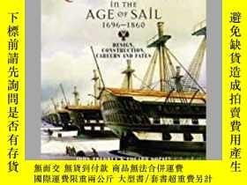 二手書博民逛書店Russian罕見Warships in the Age of Sail 1696-1860 (damaged)-