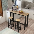 吧台桌 靠牆吧台桌家用簡約吧台高腳桌酒吧桌椅組合牆邊窄桌長條桌窄桌子 【快速出貨】