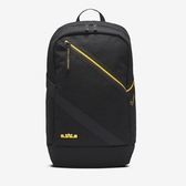 R-NIKE LEBRON 刺繡 小LOGO 黑色 筆電包 雙肩包 後背包 運動背包 黃紫 黑 休閒包 CT3756-011