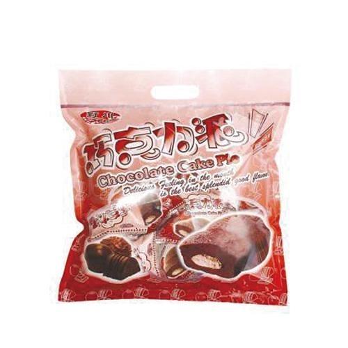野川巧克力蛋黃派19g x15入【愛買】