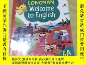 二手書博民逛書店朗文英語Longman罕見Welcome to English 4AY408729 不祥 不祥
