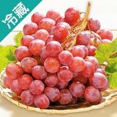 【加州】鮮甜紅地球葡萄(500G±5%)/盒【愛買冷藏】