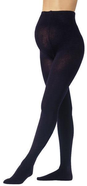 【奇買親子購物網】妮妮 NiNi 100丹尼~彈性厚棉褲襪(黑)