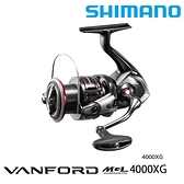 漁拓釣具 SHIMANO 20 VANFORD 4000XG [紡車捲線器]